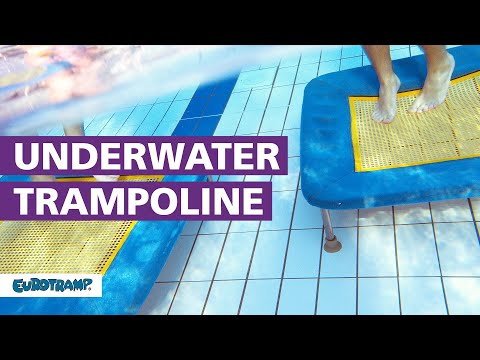 Video: Eurotramp® Unterwassertrampolin