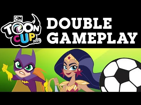 DC Super Hero Girls | Super Late & Toon Cup Playthrough | Cartoon Network UK