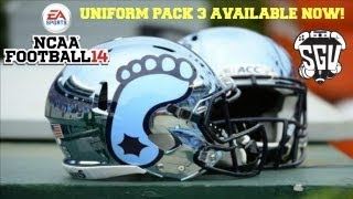 NCAA Football 14: Uniform Pack 3 Available Now!