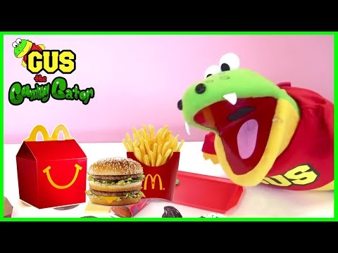 Doc McStuffins Check Up Turns into shots from eating McDonald's Food gets Tummy Ache