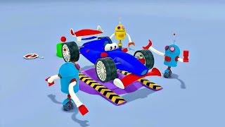 Zeem Zoom - Dessin animé avec les bébés bolides de course streaming