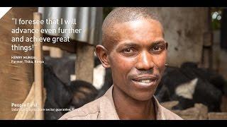Henry Mungai, Small-scale dairy farmer in Kenya