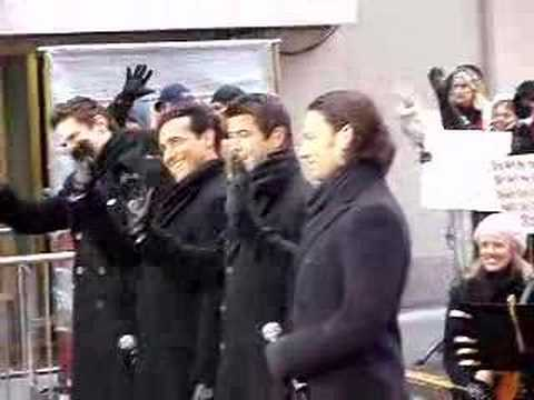 Il Divo - Today Show Part 3 NYC