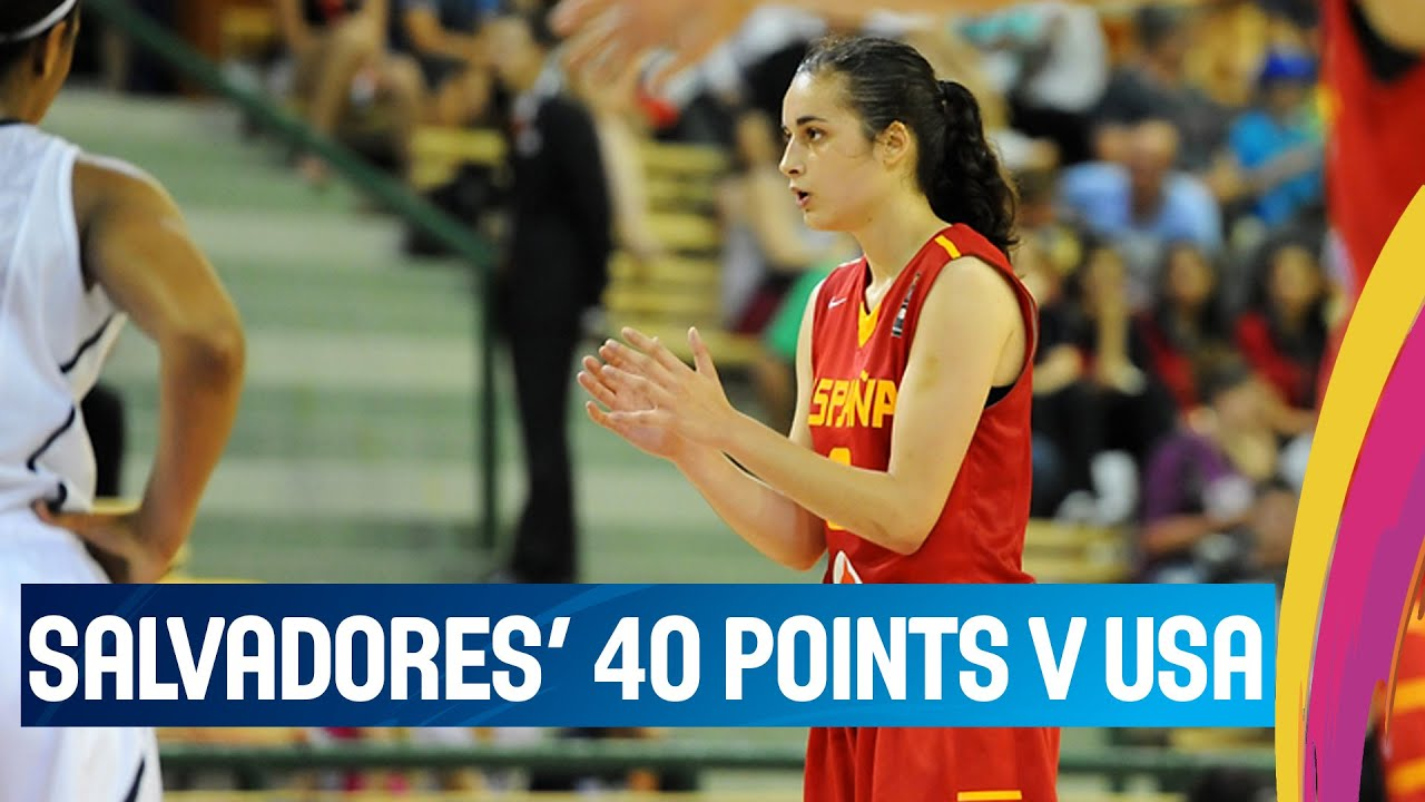 Salvadores' 40 Points v USA