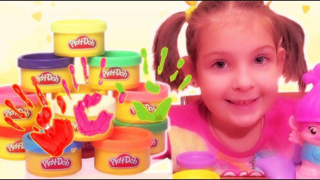 Весёлая Школа с Play Doh - Прически - Мультфильм Грузовичок Лева .