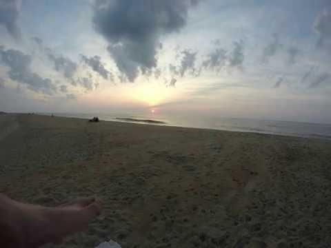 Sun rise in Ocean City