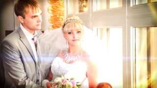 Свадебная фотосессия. Студия