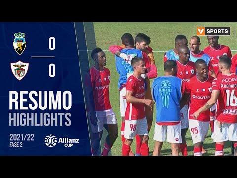 SC Farense Santa Clara Goals And Highlights