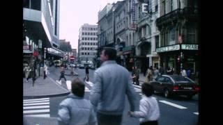 Bruxelles Hiver 81-82 Film S8 scanné en 720p