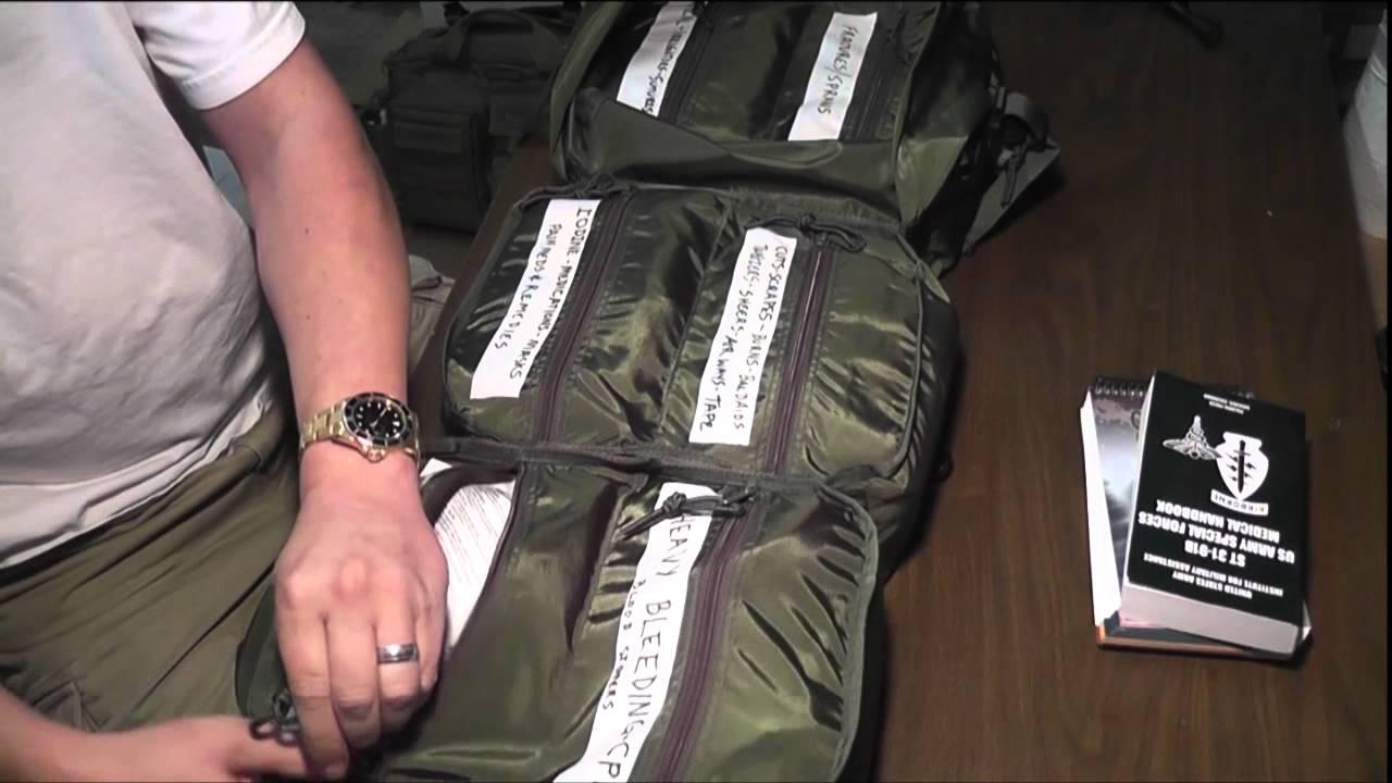 SHTF First Aid Kit - M17 Medical Bag Pt1 - reload pt1/2 ...