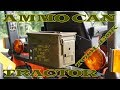 Ammo Can Tractor Toolbox UPGRADE - Kubota Tractor