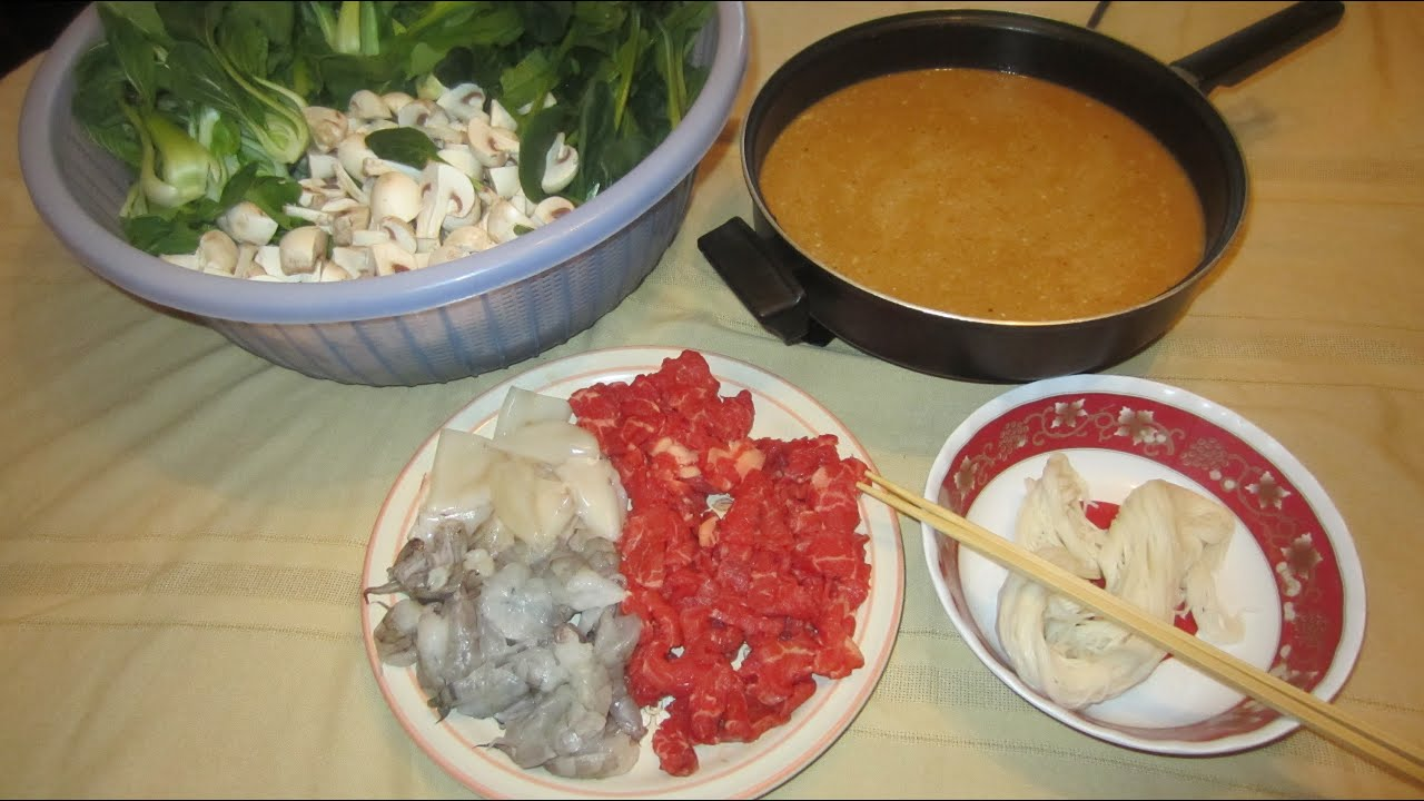 How to make khmer hot pot aka ya hon youtube forumfinder