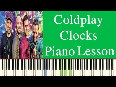 Coldplay | Clocks Chords | Piano Lesson | Clocks Lyrics - YouTube