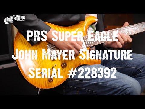 Top Shelf Guitars - PRS Super Eagle John Mayer Signature Serial #228392