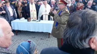 Generalul Chelaru la Zlatna de 1 Decembrie 2013  Video 1