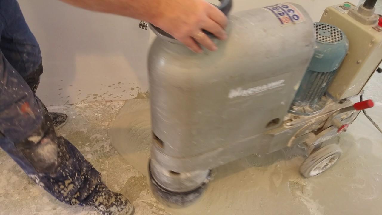 Maquina para pulir terrazo restauraci n del suelo for Como pulir suelo de terrazo