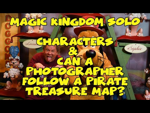 magic-kingdom-solo:-charcters-and-can-a-photographer-follow-a-pirate-treasure-map?-|-park-tales