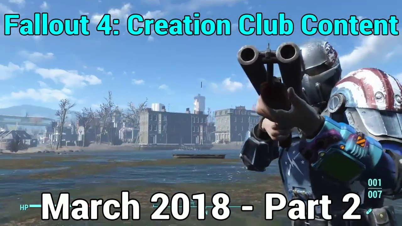 Fallout 4: Creation Club NEW Content - March 2018 9th, Part 2