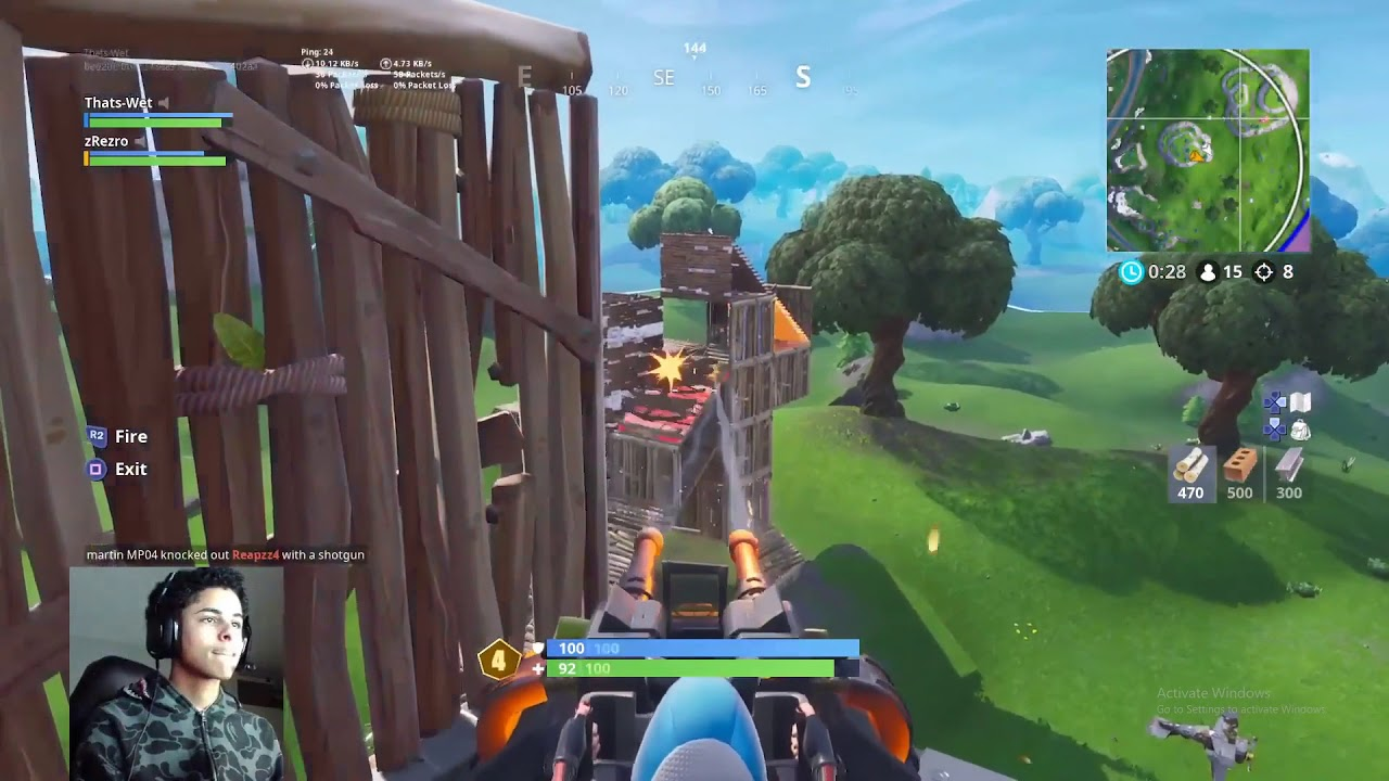 Kenworth Fortnite Gameplay My Gaming Setup 200k Special Fortnite Battle Royale Gameplay By Thatswet