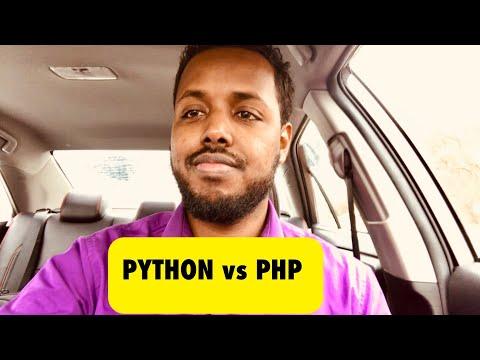 PHP or Python - Kee Kuu Fiican (Somali)