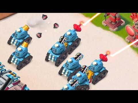 ALL PROTOTROOPS DESTROYING BASES IN BOOM BEACH!