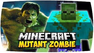 MINECRAFT: MUTANT ZOMBIE MOD (HULK IN MINECRAFT!) | Vorstellung Mutant Creatures Mod (Deutsch | HD)