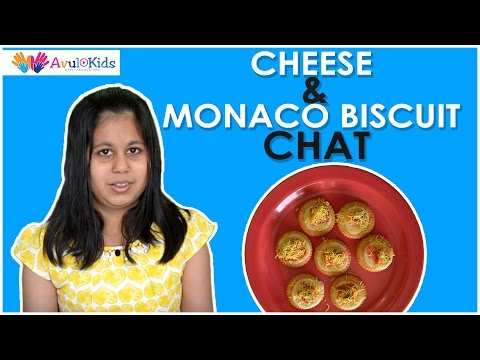 Cheese and Monaco biscuit chat | Recipes for kids