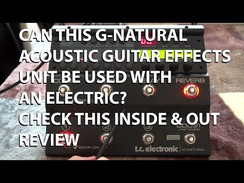 TC Electronic G Natural Effects Unit Inside and Out Review  tonymckenzie com