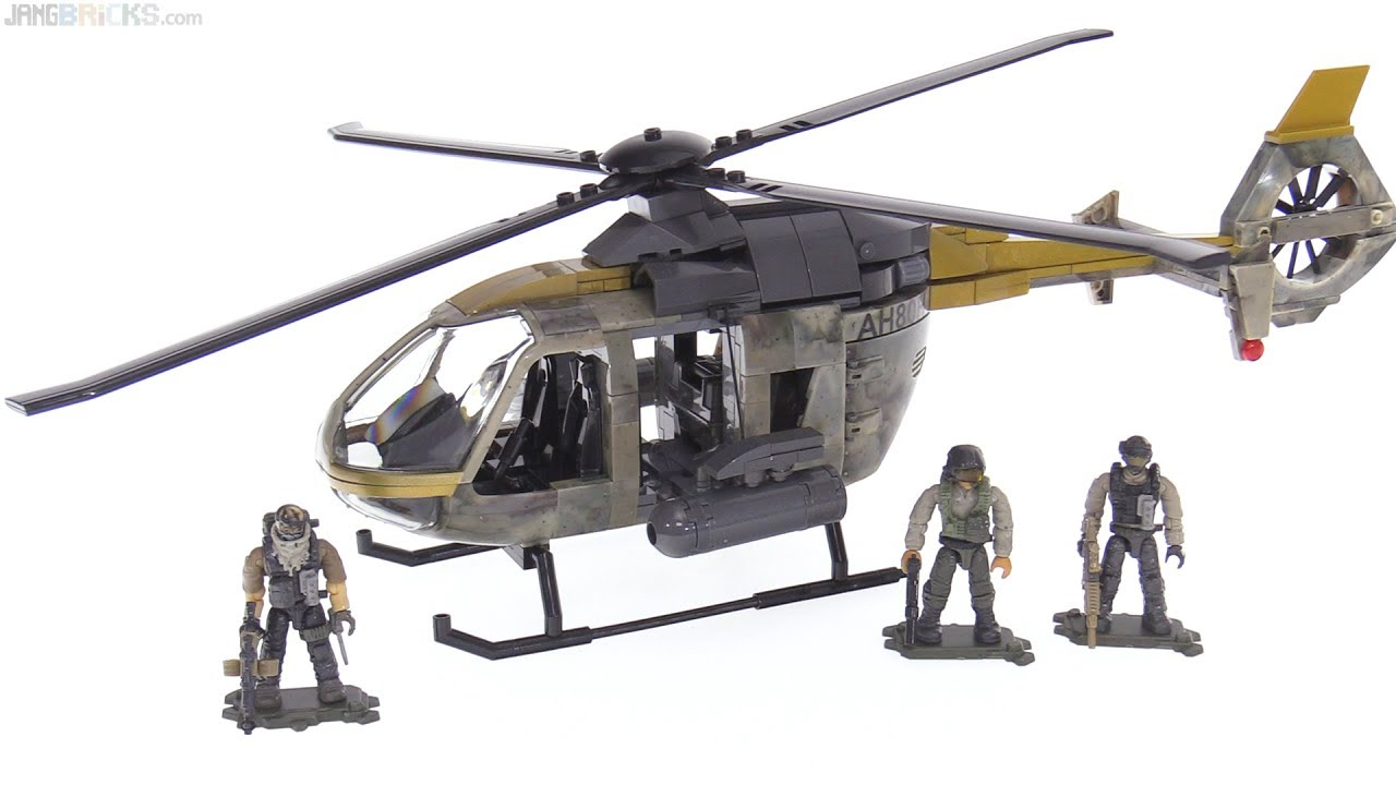Mega Construx Call Of Duty Urban Assault Copter Review Youtube