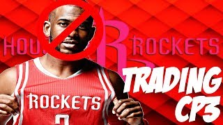 TRADING CP3 ROCKETS REBUILD!! 75+ WINS!?!? NBA 2K19