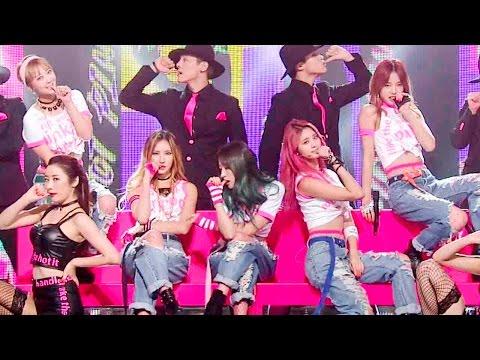 《SEXY》 EXID(이엑스아이디) - HOT PINK(핫핑크) @인기가요 Inkigayo 20151206