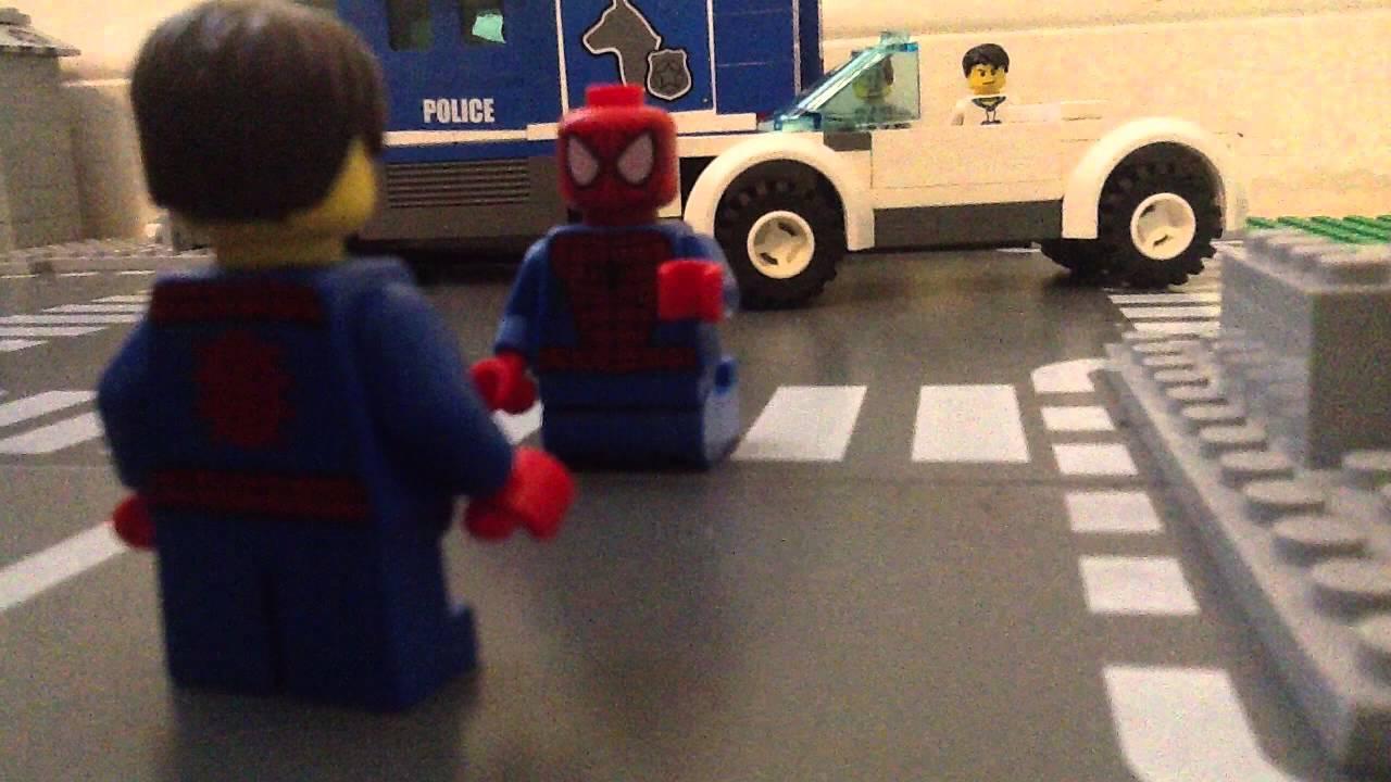 Lego amazing spider man 2 fighting rhino ending youtube - Lego the amazing spider man 3 ...