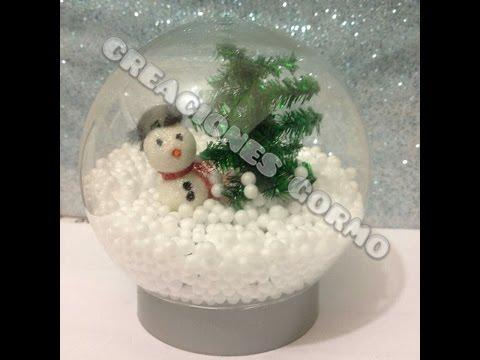 Download video bola de nieve navide a casera sin agua - Como hacer bolas de nieve ...