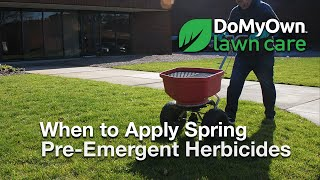 When to Apply Spring Pre Emergent Herbicides - Weed Prevention Tips