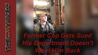 His Cop Buddies Thought It Was Funny...Until He Was Fired And Sued