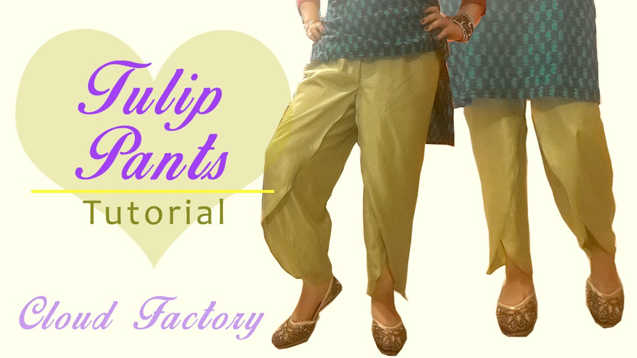 how to cut patterns from pants