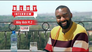 (2/2): Riky Rick On Why Artists Get Depressed, Money Education & Working With Vaseline