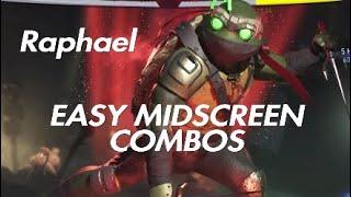 Injustice 2 | TMNT Raphael Easy Midscreen Combos