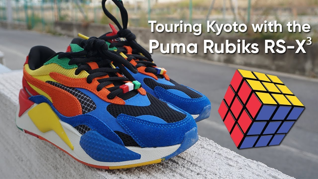 Touring Kyoto & Nara with the Puma Rubiks RS X³ Collab YouTube