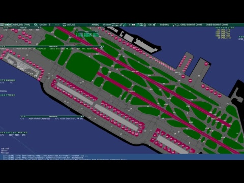 Controlling on Dubai Delivery on vatsim network
