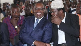 Miguna Miguna and Evans Kidero take on each other on matters of intergrity