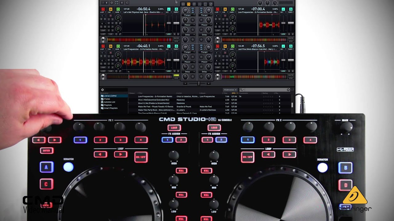 behringer video manual cmd studio 4a fx section youtube rh youtube com behringer uca202 audio interface review behringer uca202 audio interface manual
