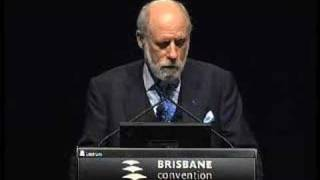 Dr Vinton Cerf Presentation in Brisbane