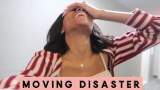 MOVING DISASTER! | GETTING LOCKED OUT!