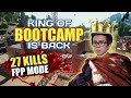 KING OF BOOTCAMP IS BACK !!! 27 KILLS FPP MODE - PUBG MOBILE INDONESIA