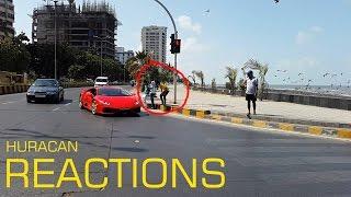 lamborghini Huracan REACTIONS | Mumbai | India