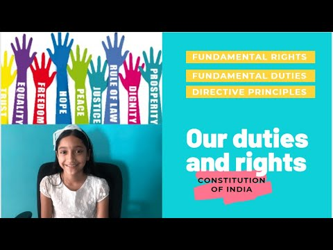 Our Rights and Duties | Fundamental Rights | Directive Principles | Fundamental Duties of India