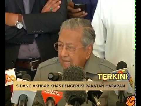 'Kerajaan baru sah mansuh cukai GST' - Tun Mahathir