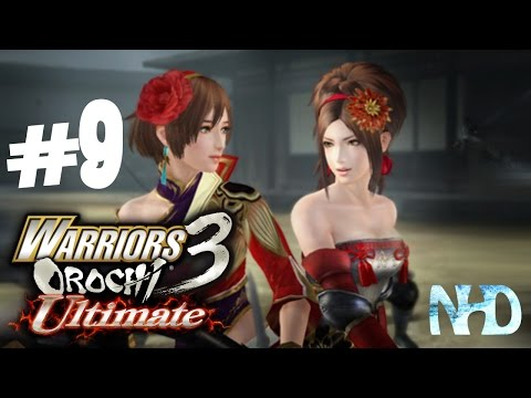 Let's Play Warriors Orochi 3 Ultimate (pt9) Chapter 1: Battle of Odawara Castle