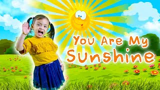 You are My Sunshine Kids Nursery Rhyme Song by 3 y/o Trisha / 당신은 My Sunshine 보육 동요